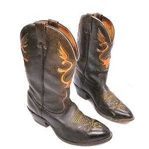 Boulet Canada Western Cowboy Boots